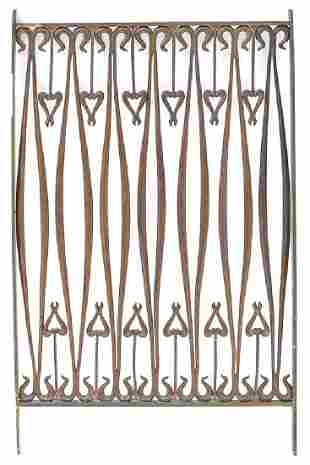 Arts and Crafts Bronze Grille