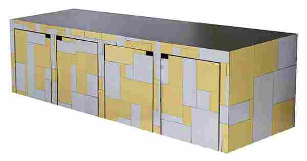 Paul Evans Cityscape Wall Mount Cabinet