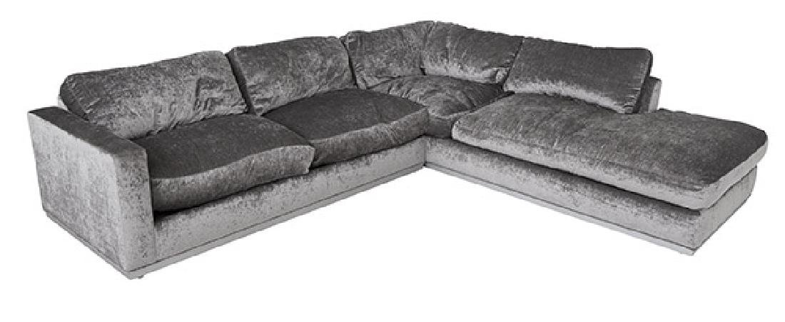 After Milo Baughman Sectional Sofa