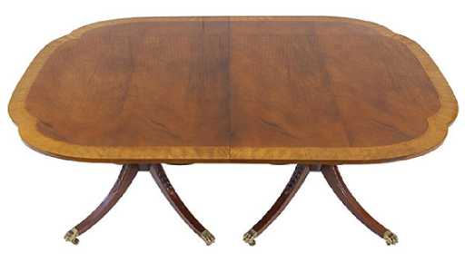 Baker Historical Charleston Adaption Dining Table See Sold Price