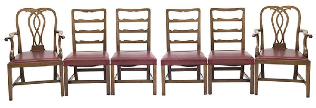 Kittinger WC Williamsburg Restoration Dining Chairs