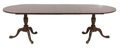 Kittinger Buffalo Mahogany Dining Table