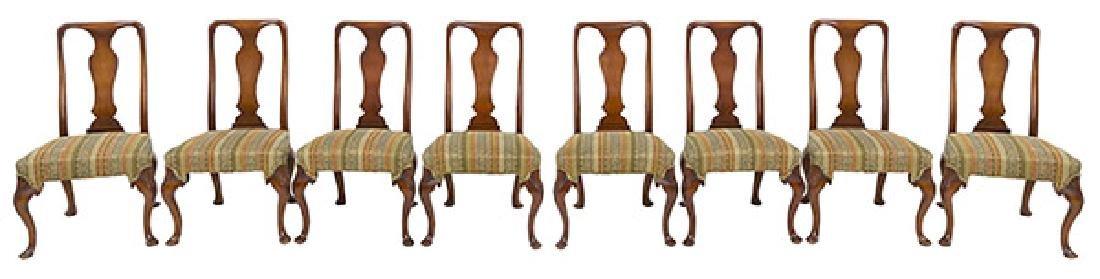 Kittinger Buffalo Mahogany Dining Chairs