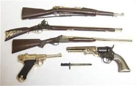 assembled marx miniature guns
