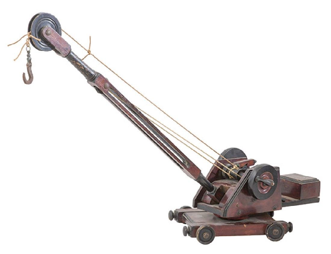 19th Century Toy Crane