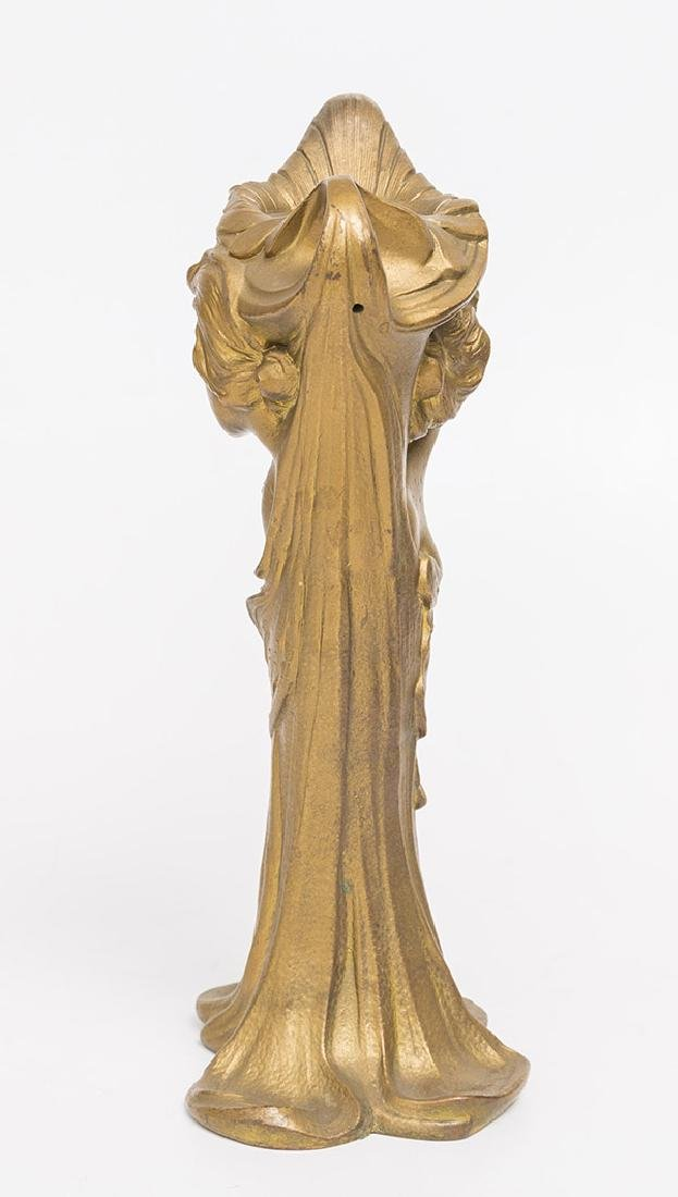 Art Nouveau Gilded Vase - 3