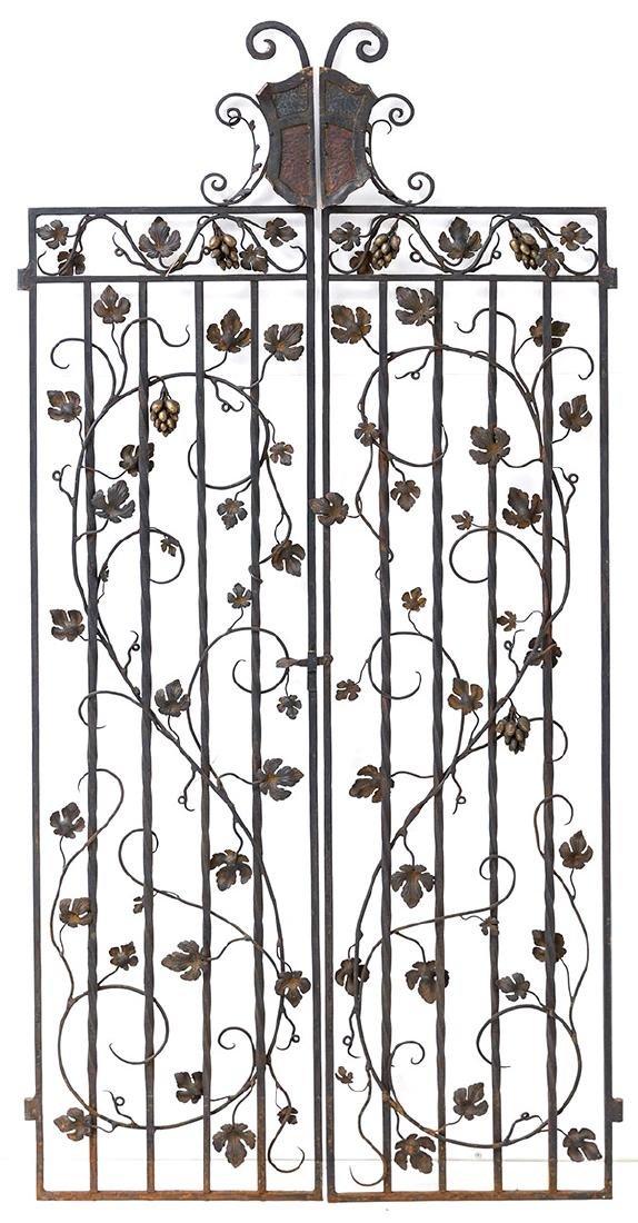Art Nouveau Iron Gates