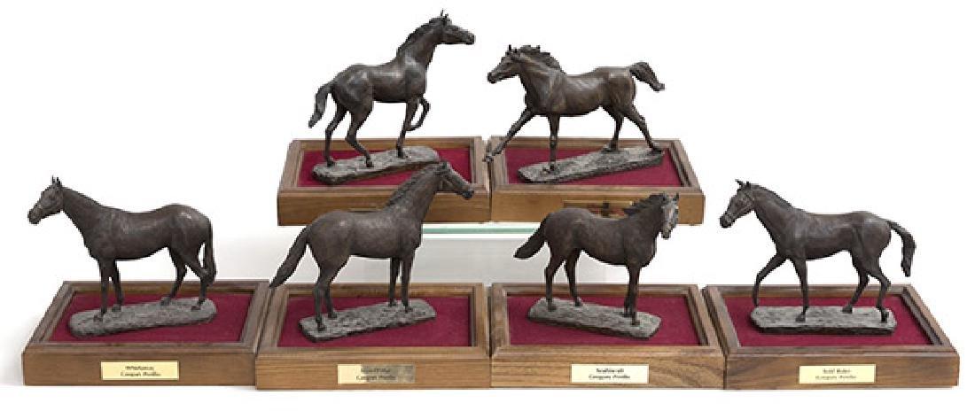 Gregory Perillo (Born 1929) Horse Sculptures (N.Y.)