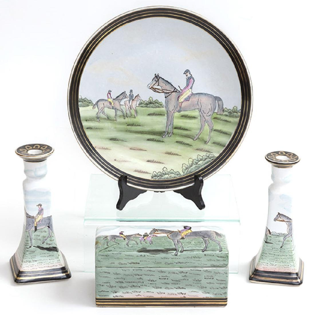 Equestrian Porcelain Grouping