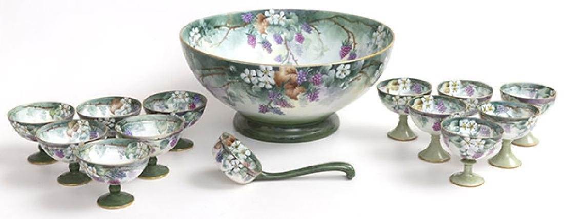 Assembled  Punch Bowl Set