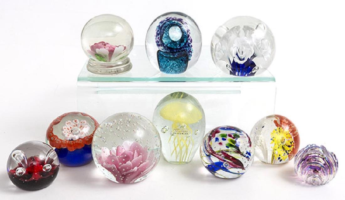 Assembled Paperweights