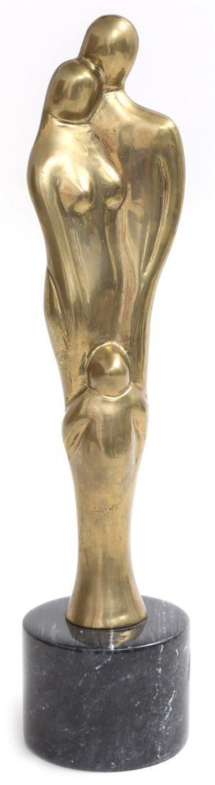 Brass Mid Century Sculpture