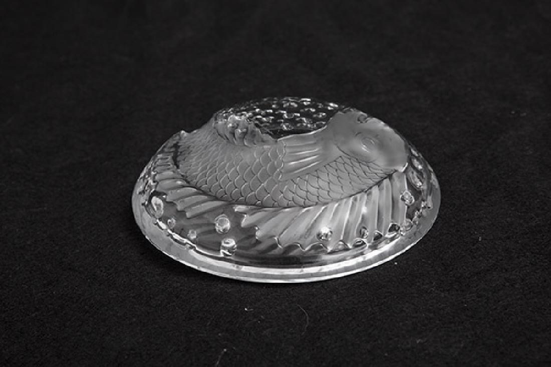 Lalique Xi'an Dragon Round Fish Bowl - 4