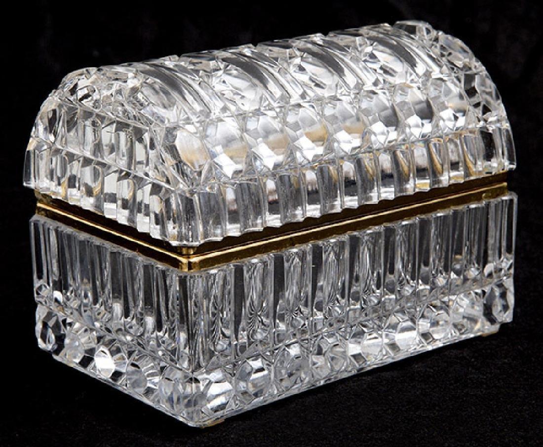 Baccarat (Attribution) Casket Box
