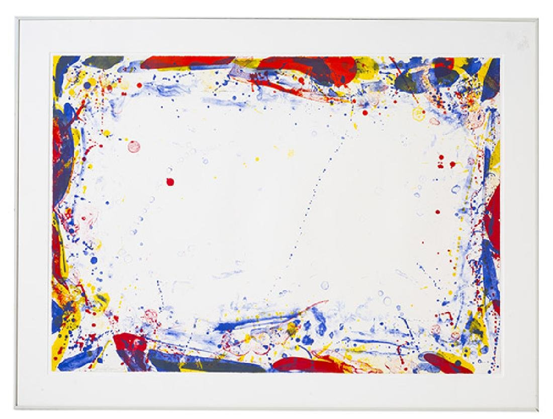 Sam Francis (1923-1994) Lithograph (CA/Japan, France)
