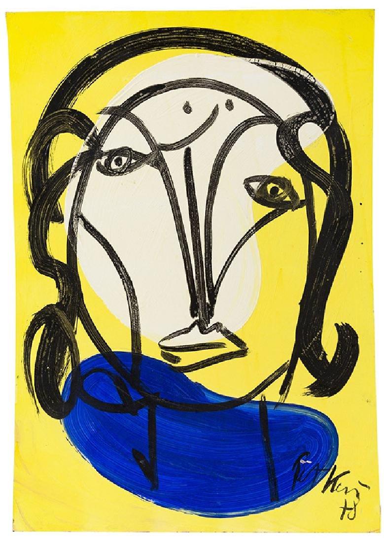 Peter Keil (born 1942) Acrylic (USA, Germany)