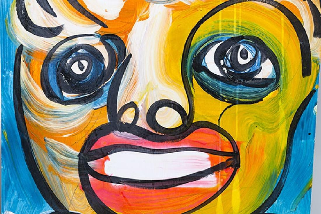 Peter Keil (born 1942) Acrylic  (USA, Germany) - 3