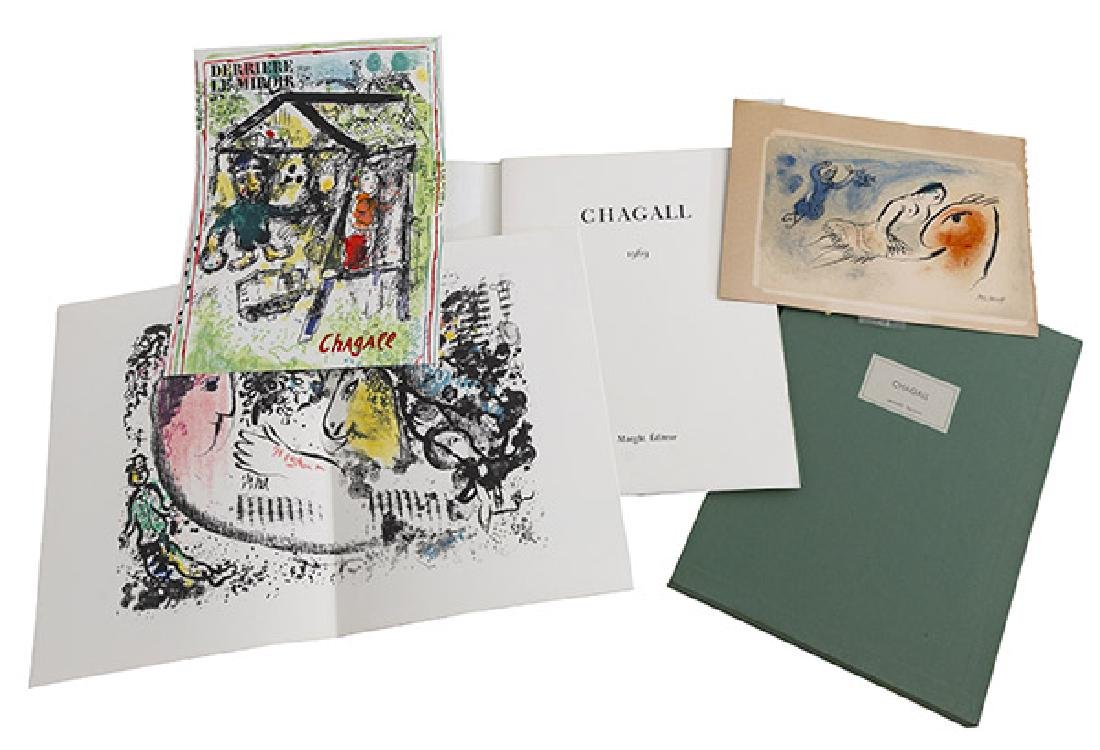 Marc Chagall (1887-1985) Maeght Editeur Portfolio