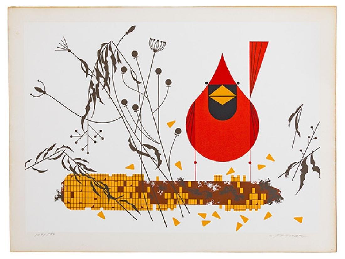 Charley Harper (1922-2007) Serigraph (Cincinnati, OH)