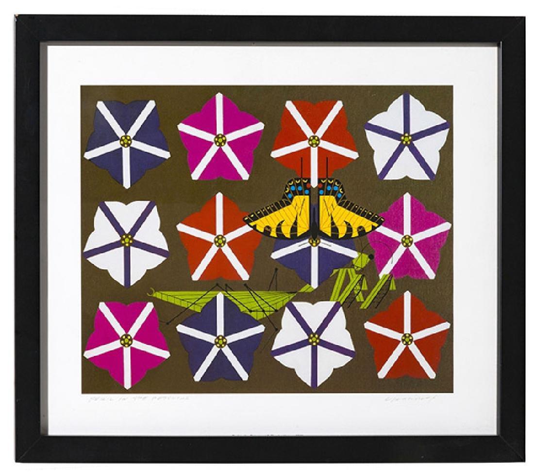 Charley Harper (1922-2007) Offset Lithograph(Cincinnat)