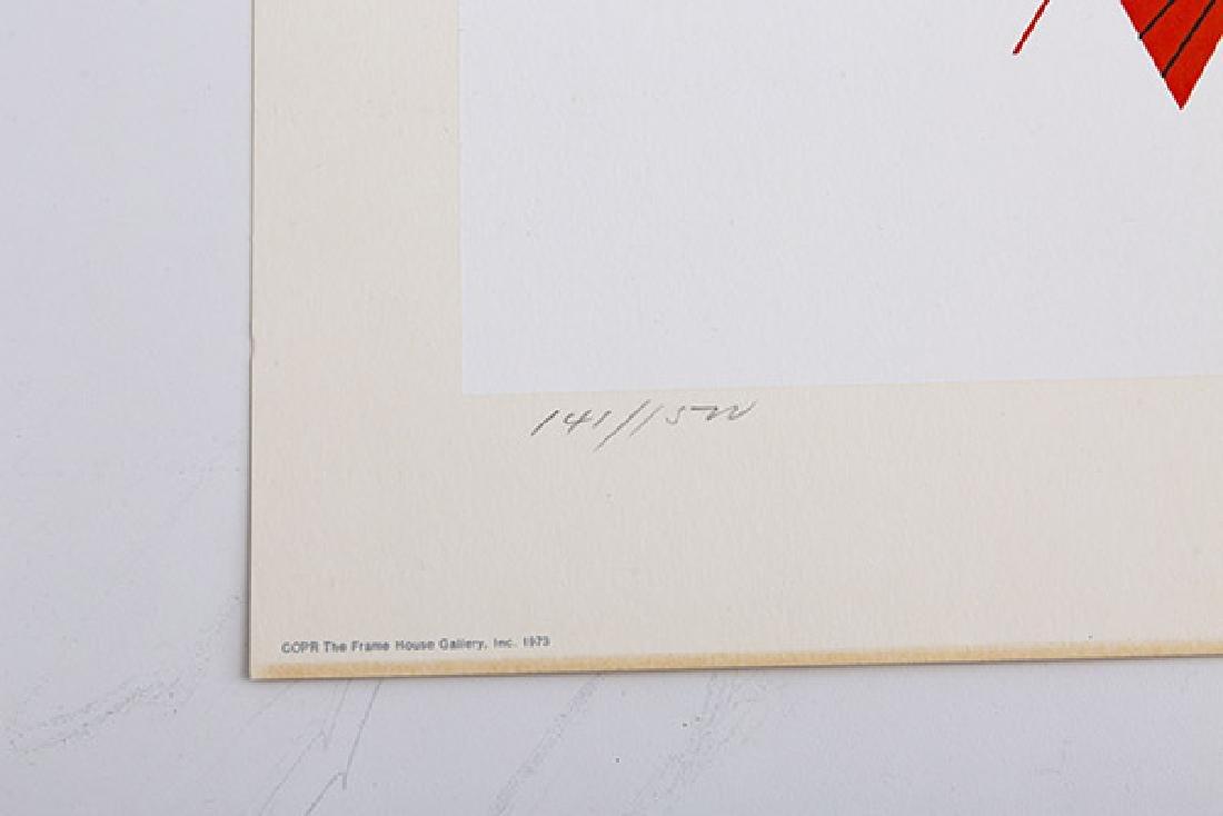 Charley Harper (1922-2007) Serigraph (Cincinnati, OH) - 3