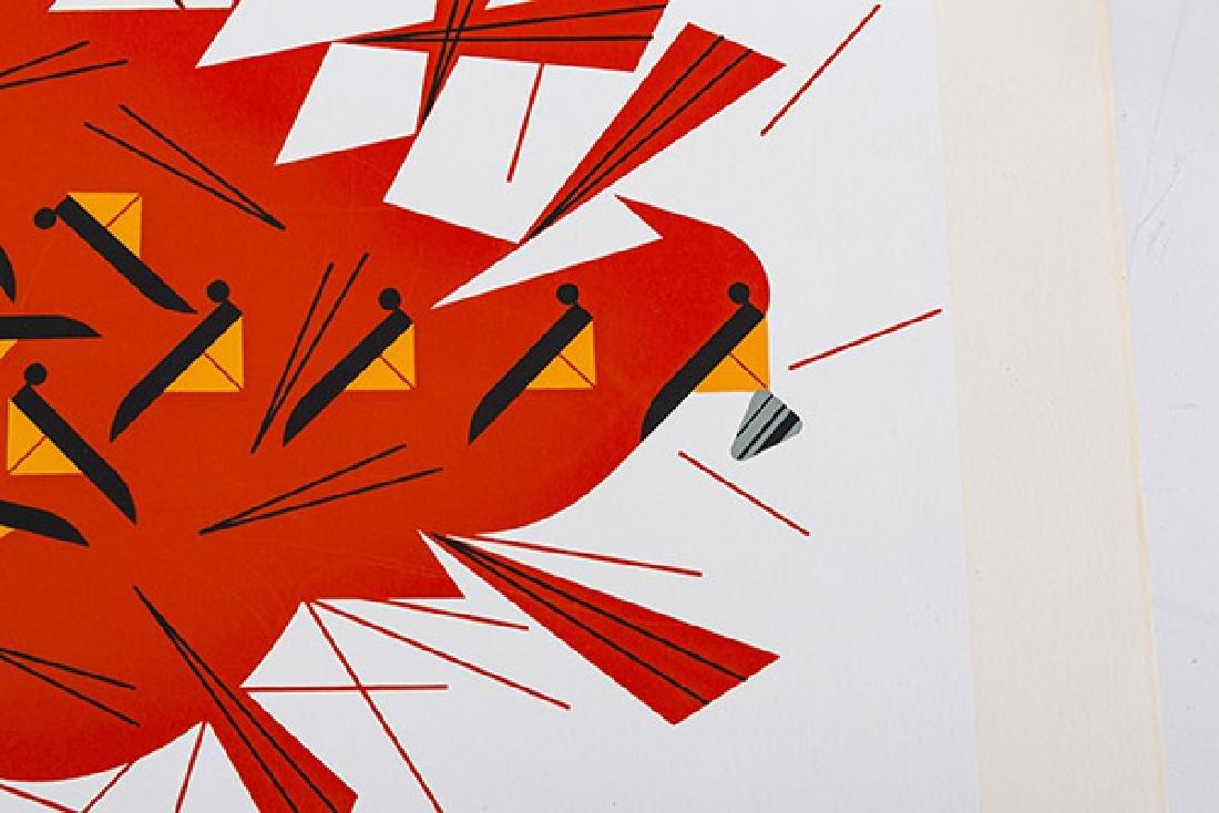 Charley Harper (1922-2007) Serigraph (Cincinnati, OH) - 5