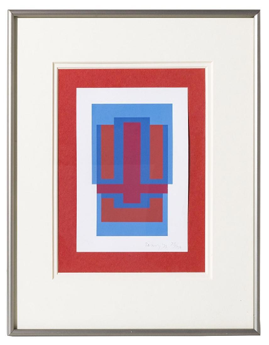 Robyn Denny (1930-2014) Serigraph (United Kingdom)