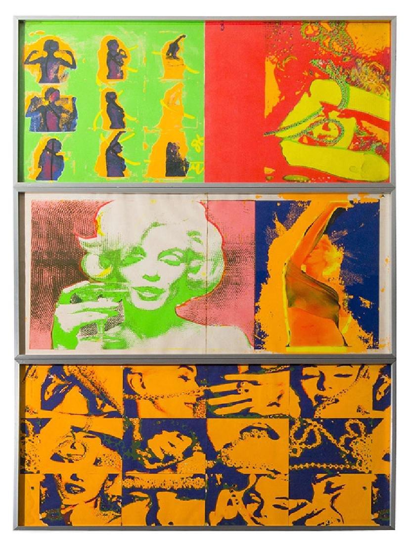 Bert Stern (1929-2013) Silk Screens (New York)