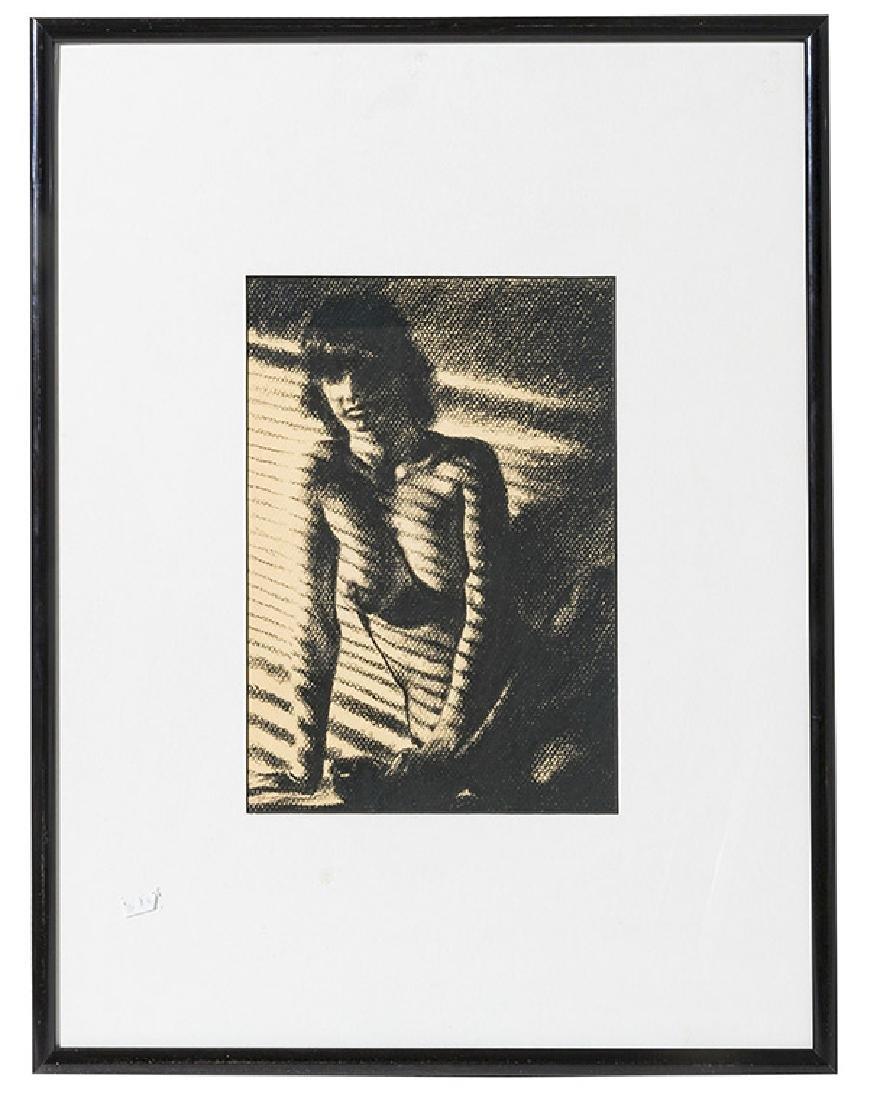 Bert Stern (1929-2013) Drawing(New York) Attribution