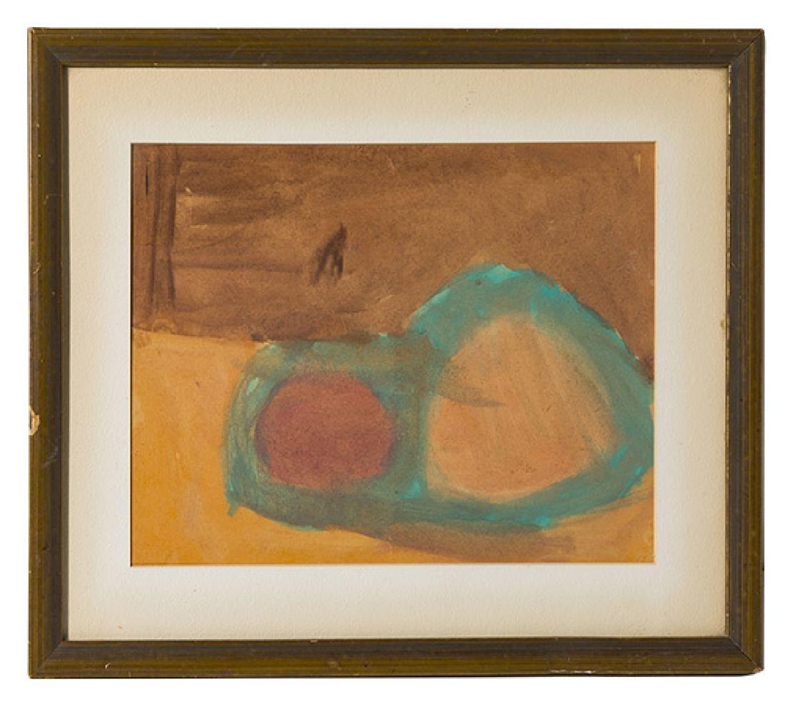 After Helen Frankenthaler Ater Watercolor