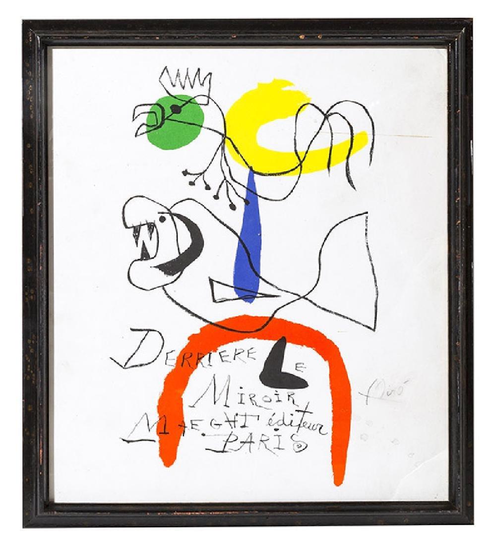 Joan Miro (1893-1983) Lithograph (Barcelona, Spain)