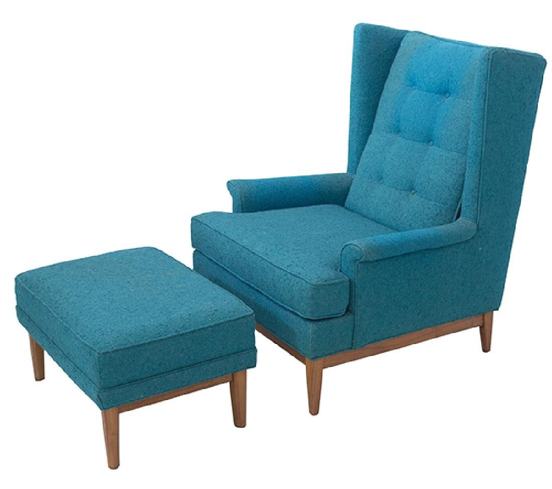 Ib Kofod-Larsen Lounge & Ottoman