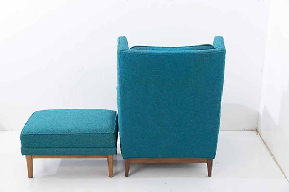 Ib Kofod-Larsen Lounge & Ottoman - 3