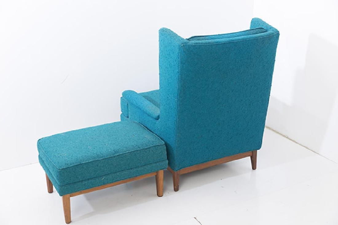Ib Kofod-Larsen Lounge & Ottoman - 4