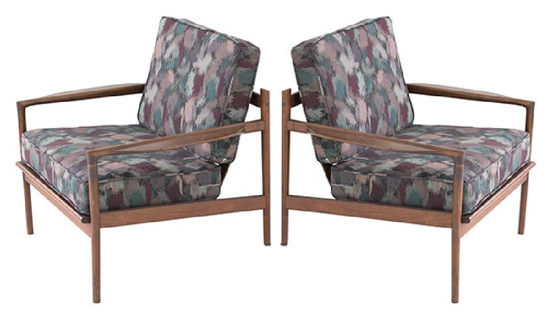 Ib Kofod-Larsen Picket Back lounge Chairs