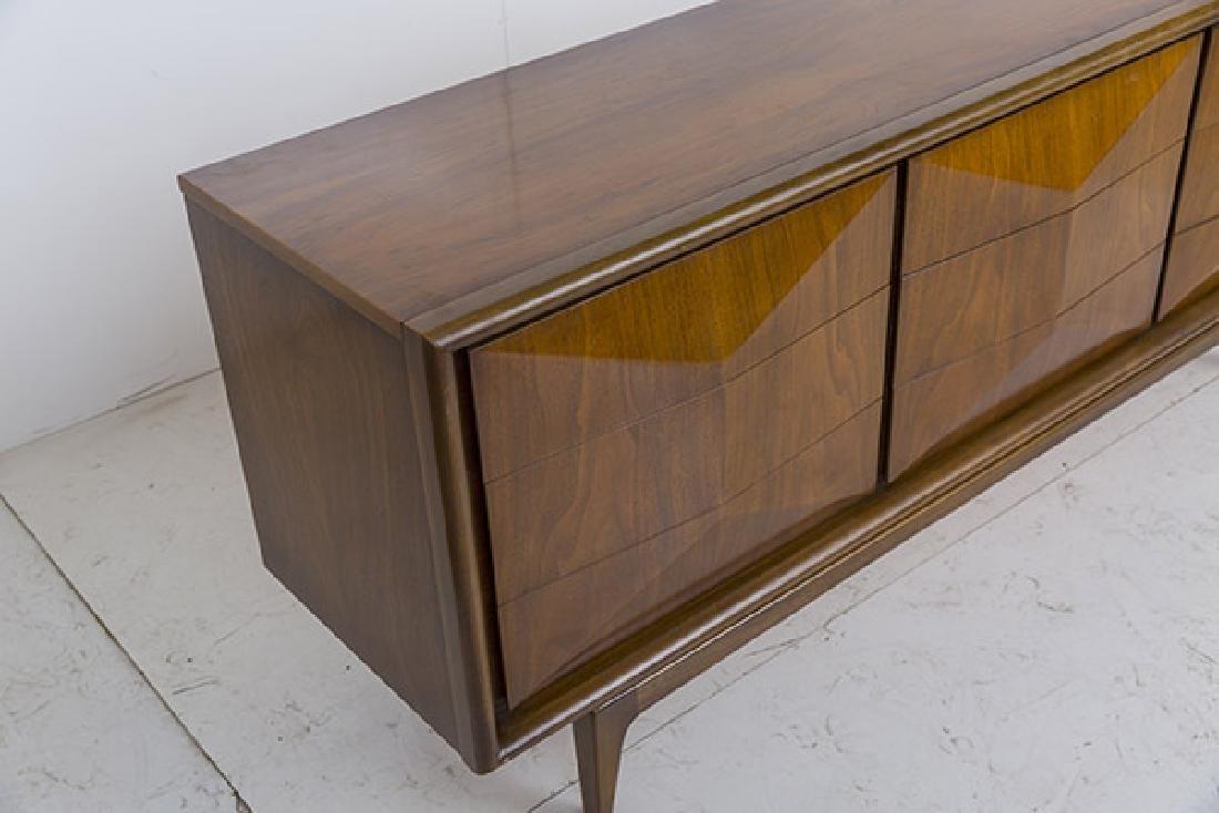 Mid-Century Diamond Front Dresser - 3