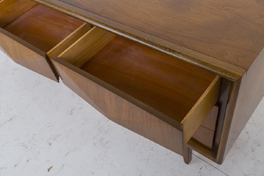 Mid-Century Diamond Front Dresser - 4