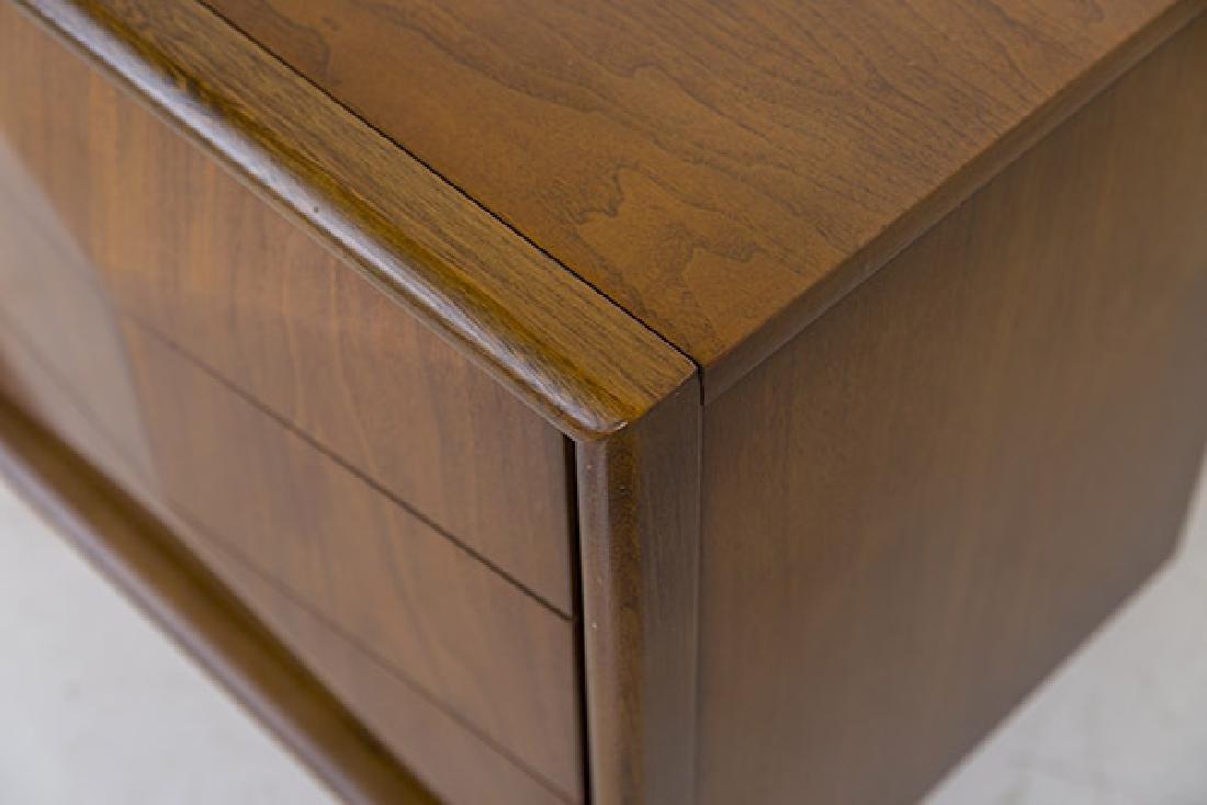 Mid-Century Diamond Front Dresser - 6