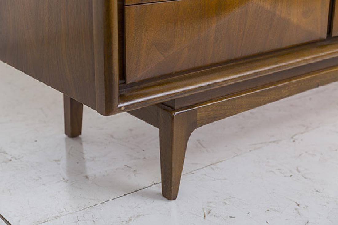 Mid-Century Diamond Front Dresser - 8