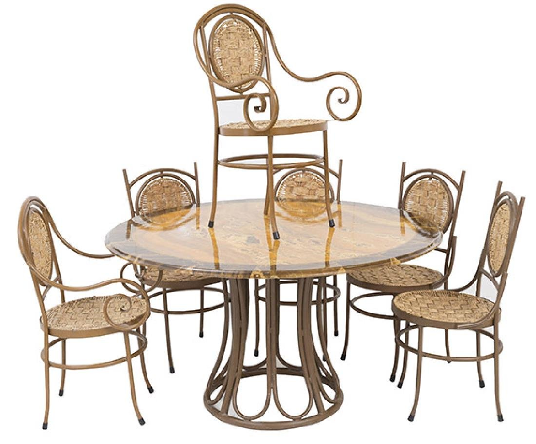 Mid Century Mexican Dining Set