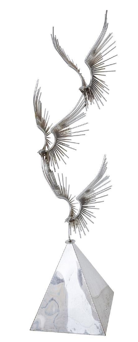 Curtis Jere' Eagle Sculpture