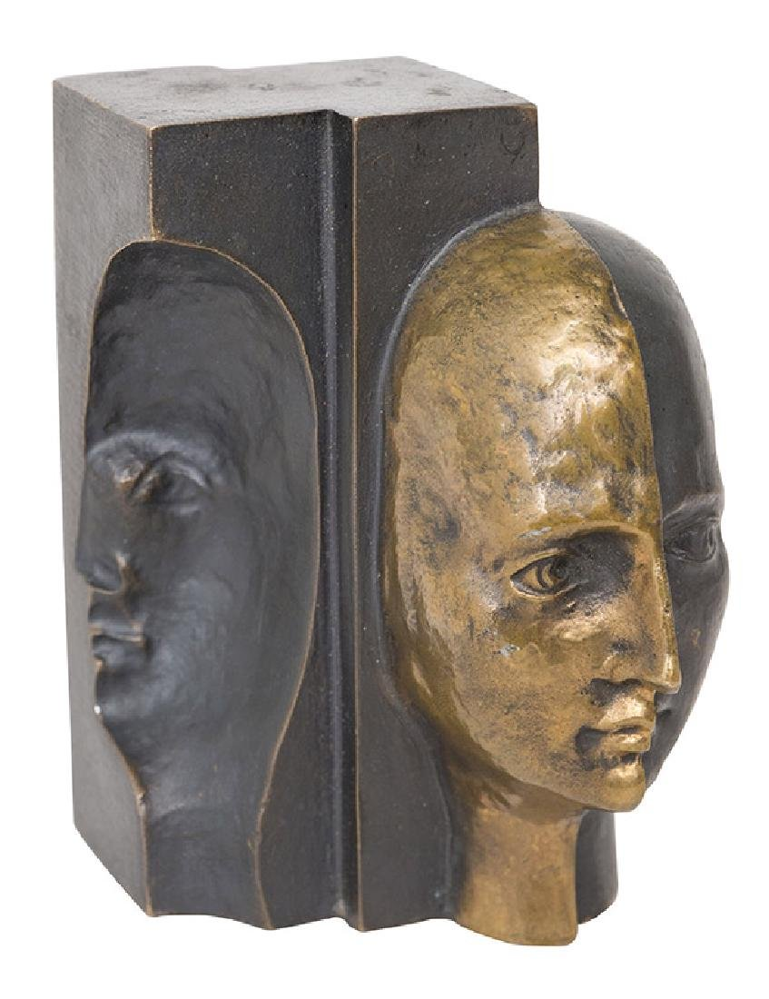 Rene Berthet Bronze Sculpture (France)