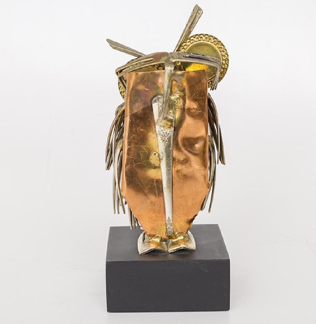Raul Zuniga Owl Sculpture - 2