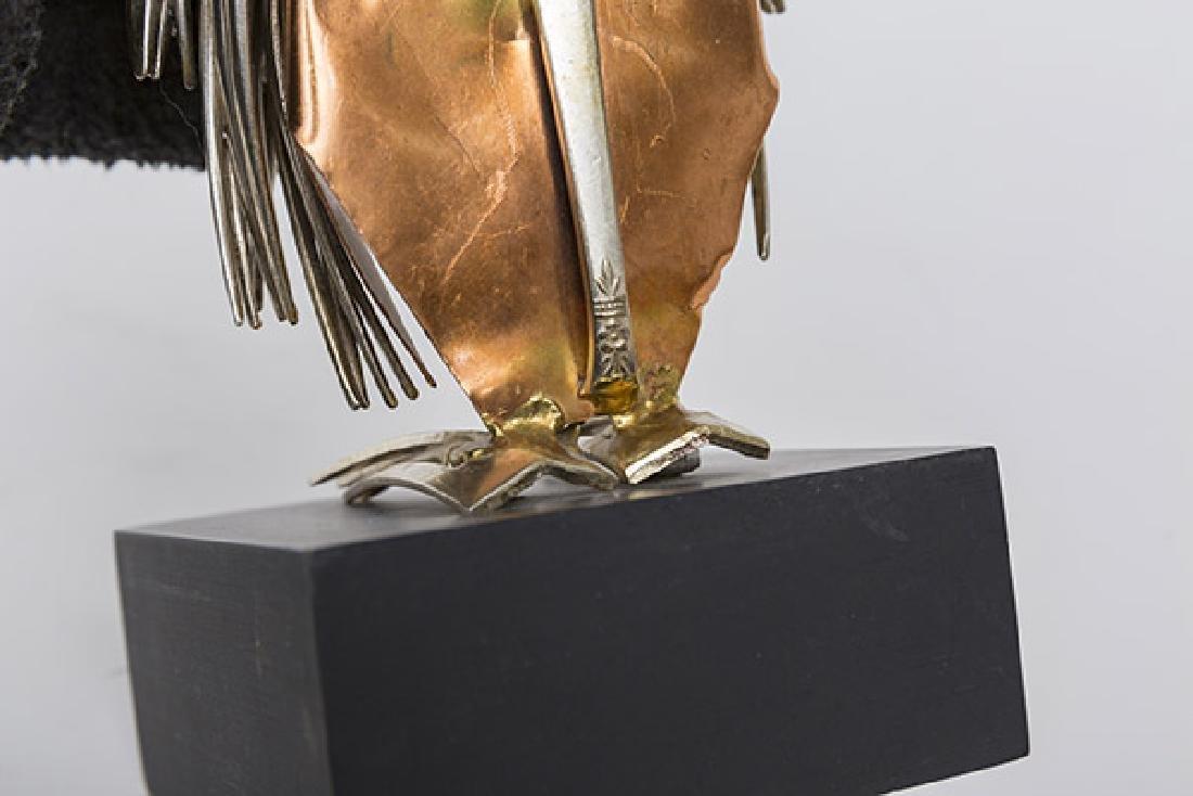 Raul Zuniga Owl Sculpture - 5