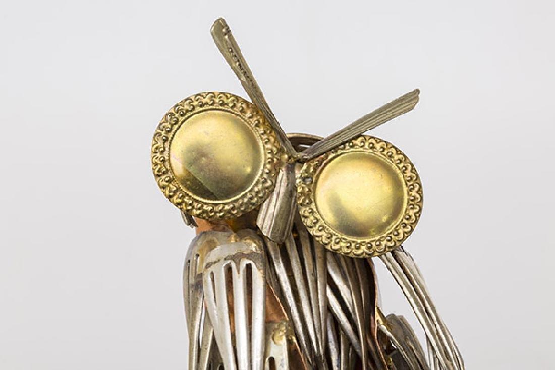 Raul Zuniga Owl Sculpture - 7