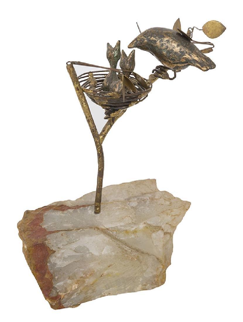 Curtis Jere' Nest Sculpture