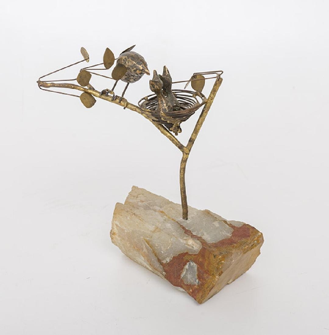 Curtis Jere' Nest Sculpture - 2