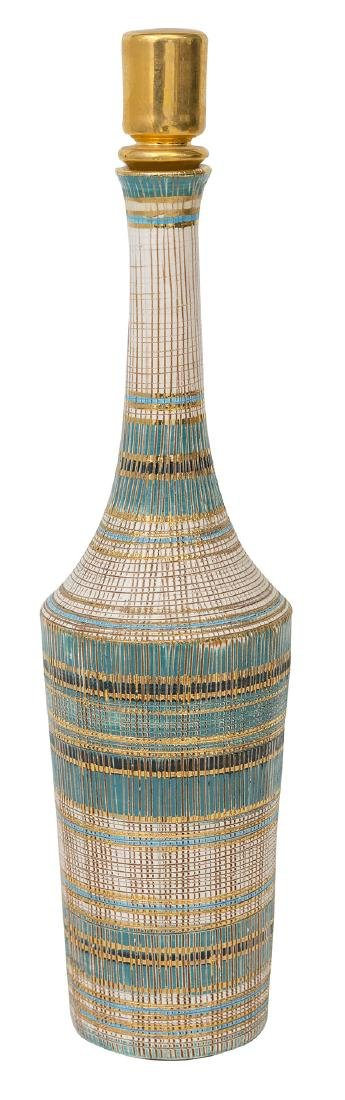 Aldo Londi/Bitossi Bottle Vase & Stopper