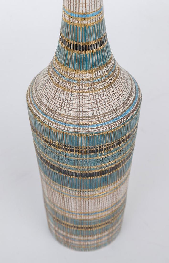 Aldo Londi/Bitossi Bottle Vase & Stopper - 3