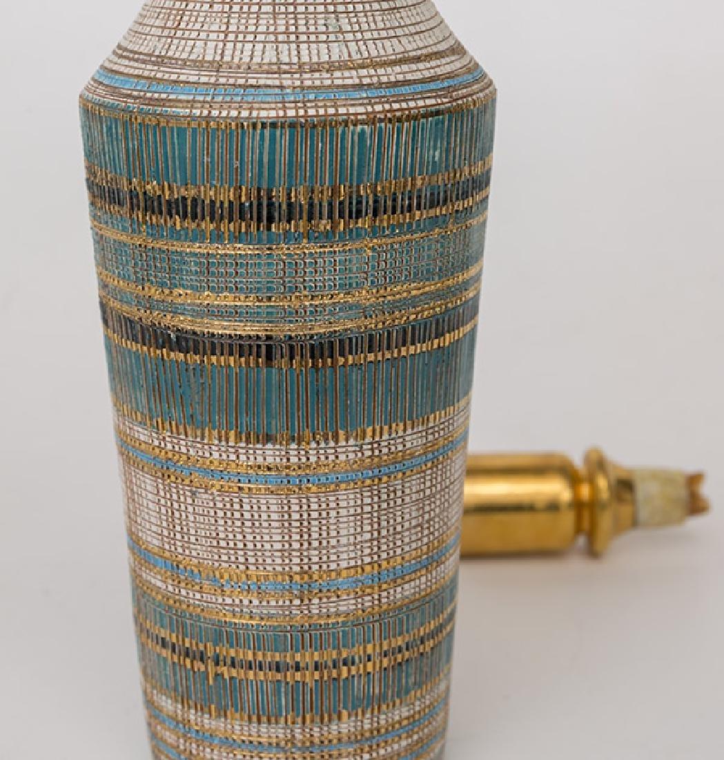 Aldo Londi/Bitossi Bottle Vase & Stopper - 6